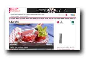 screenshot de www.femmeactuelle.fr