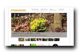screenshot de www.fiskars.com