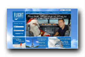 screenshot de www.flightexperience.fr