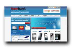 screenshot de www.fonebank.fr