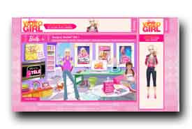 screenshot de fr.barbie.com