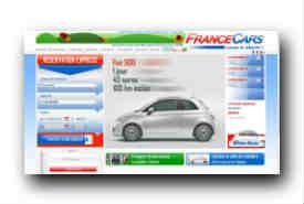 screenshot de www.francecars.fr