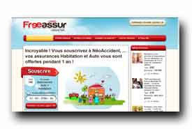 screenshot de www.freeassur.com