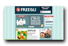 screenshot de www.freegli.com