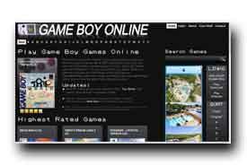 screenshot de www.gameboyonline.com