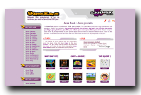 screenshot de gamezone.2001jeux.com