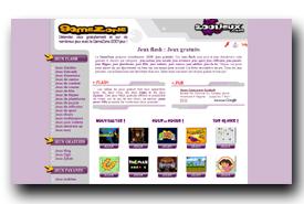 screenshot de gamezone.2001jeux.com