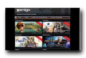 screenshot de www.gamigo.fr
