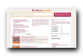screenshot de www.gateau.com