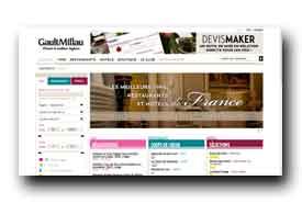 screenshot de www.gaultmillau.fr