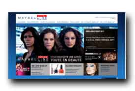 screenshot de www.gemey-maybelline.com