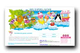 screenshot de www.glaces.org