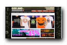 screenshot de www.goeland.fr