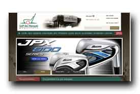 screenshot de www.golfdesmarques.com
