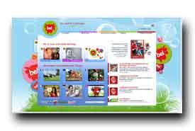 screenshot de www.groupe-bel.com