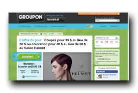 screenshot de www.groupon.ca
