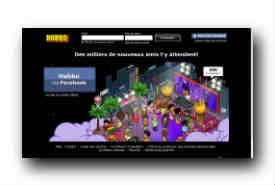 screenshot de www.habbo.fr