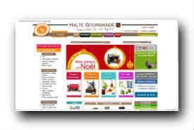 screenshot de www.haltegourmande.com