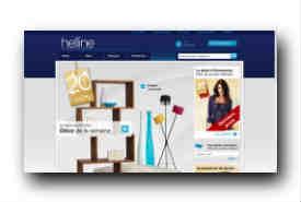 screenshot de www.helline.fr/HellineFr