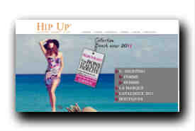 screenshot de www.hipup.com