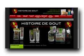 screenshot de www.histoiredegout.com
