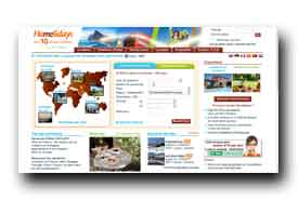 screenshot de www.homelidays.fr
