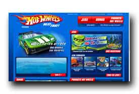 screenshot de fr.hotwheels.com