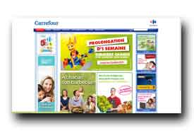 screenshot de www.hypercarrefour.be