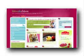 screenshot de www.ideesdechevre.fr