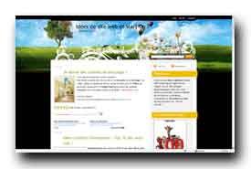 screenshot de ideesdesiteweb.blogspot.com/