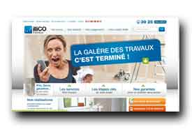screenshot de www.illico-travaux.com