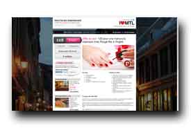 screenshot de www.ilovemtl.ca