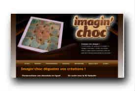 screenshot de www.imaginchoc.com