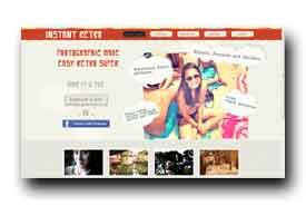 screenshot de www.instantretro.com