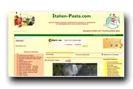 screenshot de italien-pasta.com