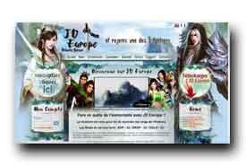 screenshot de www.jdeurope.eu