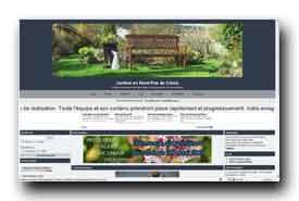 screenshot de jardin-du-nord.forumactif.net