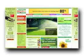 screenshot de www.jardinbrico.com