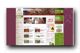 screenshot de www.jardinsdegaia.com