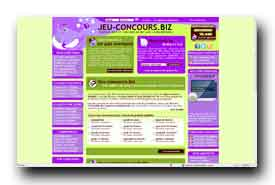 screenshot de www.jeu-concours.biz