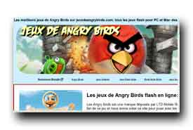 screenshot de www.jeuxdeangrybirds.com