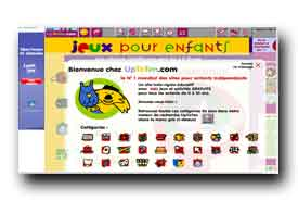 screenshot de www.jeuxpourenfants.org