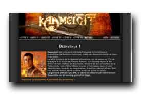 screenshot de www.kaamelott.info