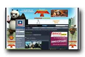 screenshot de www.kinepolis.com