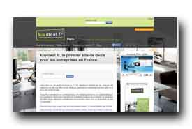 screenshot de www.kiwideal.fr