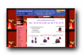 screenshot de www.laboutiquedestoons.com
