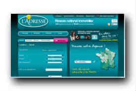 screenshot de www.ladresse.com