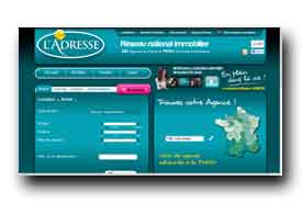 screenshot de www.ladresse.fr