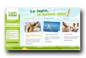screenshot de www.lapin.fr
