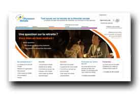 screenshot de www.lassuranceretraite.fr